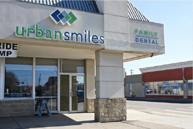 Urban Smiles Family Dental's Clinic Front