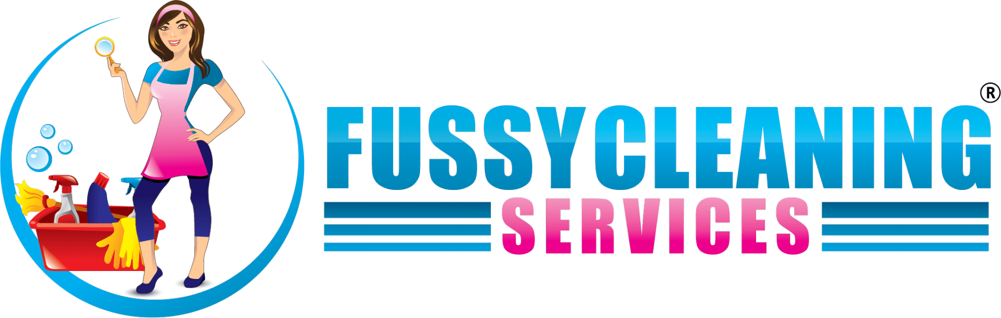 Fussy Cleaning Services' Logo