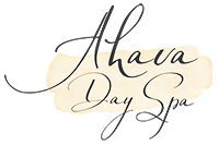 Ahava Day Spa's Logo