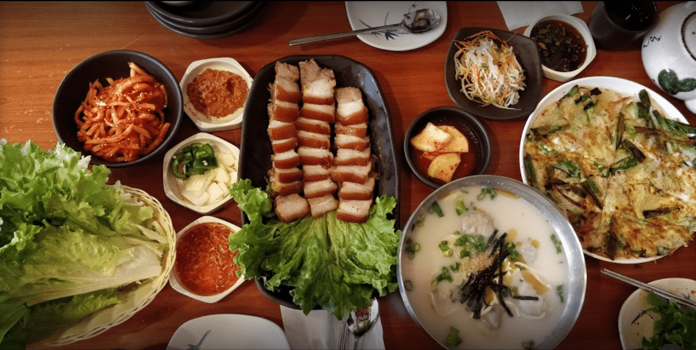 Dookbaeki Korean Restaurant Dish