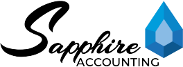 Sapphire Accounting's Logo
