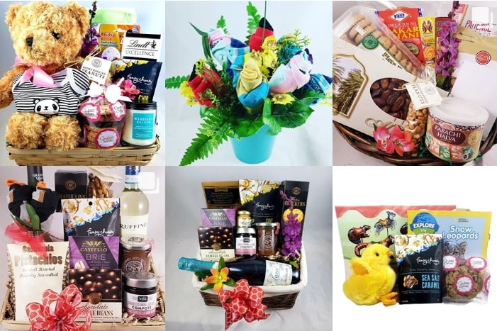 Specially Made Gifts' Gift Baskets