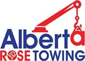 Alberta Rose Towing Service's Logo