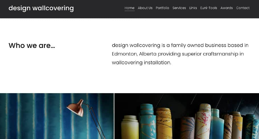 Design Wallcovering's Homepage